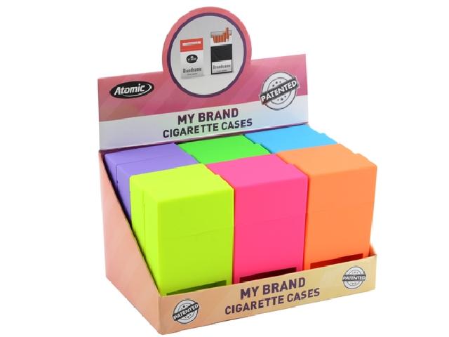 5197 - Κουτί με 12 θήκες για εκατοστάρια τσιγάρα ATOMIC Jump Open Box 100mm 0451501