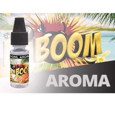 5215 - Άρωμα K-boom flavour PEACH VANILLA 10ml (ροδάκινο & βανίλια)