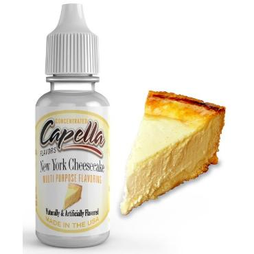 Άρωμα Capella New York Cheesecake Flavor Concentrate 13ml (τσιζκέικ)