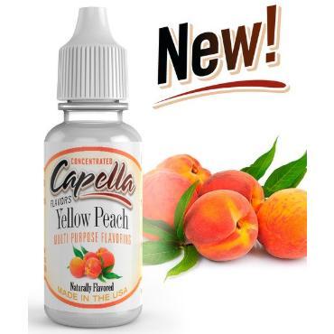 5233 - Άρωμα Capella Yellow Peach Flavor Concentrate 13ml (ροδάκινο)