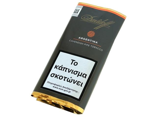 Καπνός πίπας Davidoff ARGENTINA Cavendish Pipe Tobacco 50g