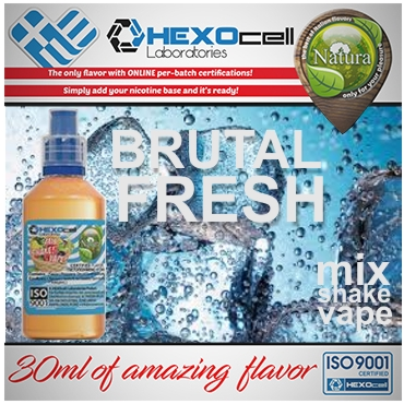 NATURA MIX SHAKE VAPE BRUTAL FRESH 30/60ML (μέντα)