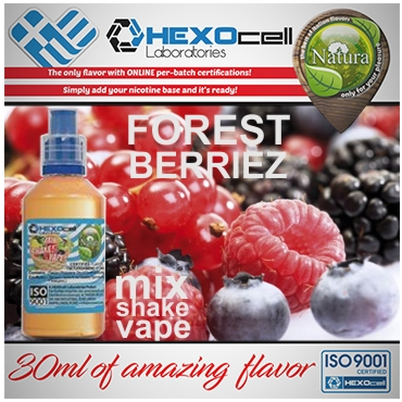 NATURA MIX SHAKE VAPE FOREST BERRIEZ 30/60ML (βατόμουρα δάσους)