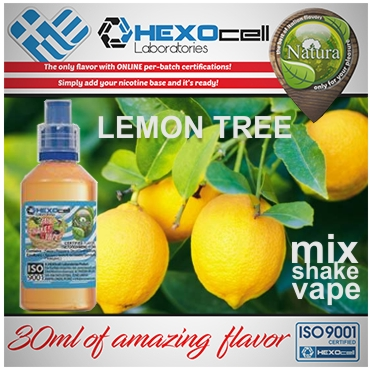 NATURA MIX SHAKE VAPE LEMON TREE 30/60ML (λεμόνι)