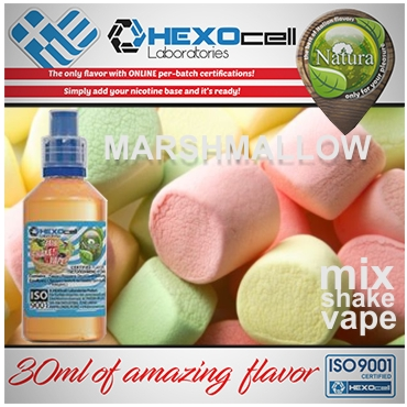 NATURA MIX SHAKE VAPE MARSHMALLOW 30/60ML (λουκούμι)