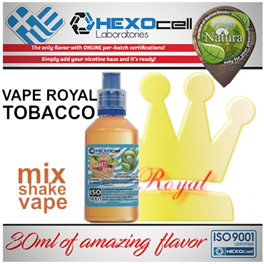 NATURA MIX SHAKE VAPE ROYAL TOBACCO 30/60ML (καπνικό)