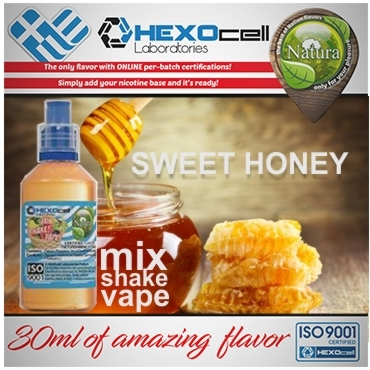 5351 - NATURA MIX SHAKE VAPE SWEET HONEY 30/60ML (μέλι)