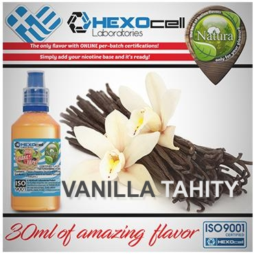NATURA MIX SHAKE VAPE VANILLA TAHITY 30/60ML (βανίλια Ταϊτής)