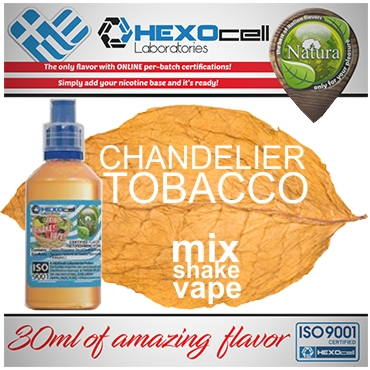 5416 - NATURA MIX SHAKE VAPE CHANDELIER TOBACCO 30/60ML (καπνικό)