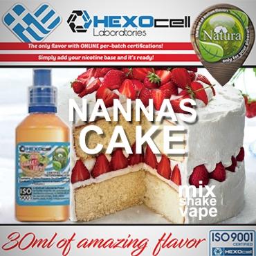 NATURA MIX SHAKE VAPE NANNAS CAKE 30/60ML (κέικ)