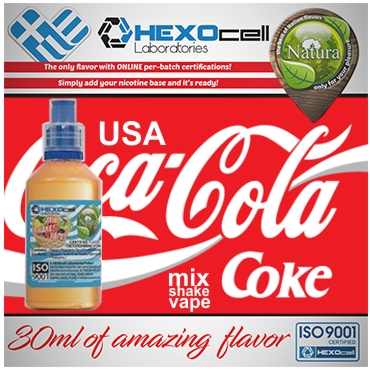 NATURA MIX SHAKE VAPE USA COCA COLA 30/60ML (κόκα κόλα)