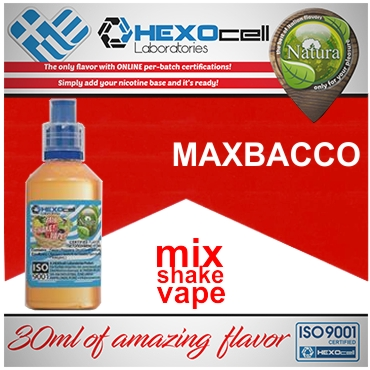 NATURA MIX SHAKE VAPE MAXBACCO 30/60ML (καπνικό)