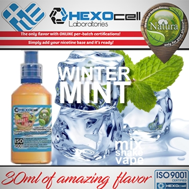 NATURA MIX SHAKE VAPE WINTER MINT 30/60ML (μέντα)