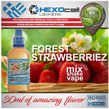NATURA MIX SHAKE VAPE FOREST STRAWBERRIEZ 30/60ML (φράουλες & φρούτα δάσους)
