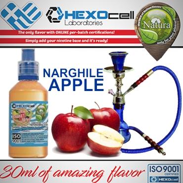 5487 - NATURA MIX SHAKE VAPE NARGHILE APPLE 30/60ML (ναργιλέ μήλο)