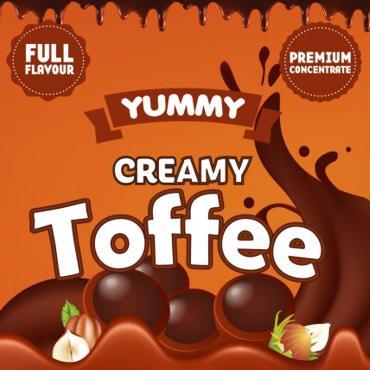 5527 - Άρωμα BIG MOUTH LIQUIDS YUMMY Creamy Toffee 10ml (μπισκότο κρέμα σοκολάτα και φουντούκι)
