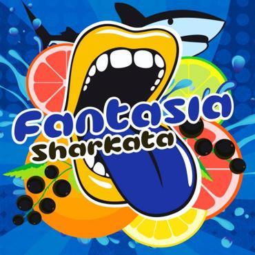 5534 - Άρωμα BIG MOUTH LIQUIDS CLASSIC Fantasia Sharkata 10ml (λεμόνι πορτοκάλι βατόμουρα)