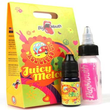Άρωμα BIG MOUTH LIQUIDS ALL LOVED UP Juicy Melon 10ml (πεπόνι & καρπούζι)