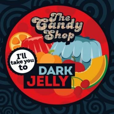 5555 - Άρωμα BIG MOUTH LIQUIDS THE CANDY SHOP Dark Jelly 10ml (ζελέ με φρούτα)