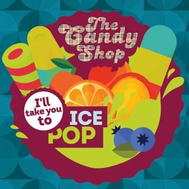 5557 - Άρωμα BIG MOUTH LIQUIDS THE CANDY SHOP Ice Pop 10ml (φρουτένια δροσιστική γρανίτα)