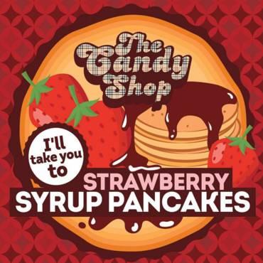 5559 - Άρωμα BIG MOUTH LIQUIDS THE CANDY SHOP Strawberry Syrup Pancakes 10ml (τηγανίτες με σιρόπι φράουλας)