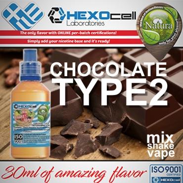 NATURA MIX SHAKE VAPE CHOCOLATE TYPE2 30/60ML (σοκολάτα)