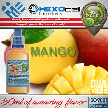 NATURA MIX SHAKE VAPE MANGO 30/60ML (μάνγκο)