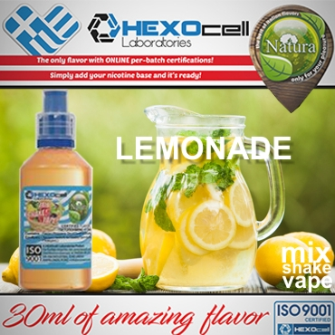 NATURA MIX SHAKE VAPE LEMONADE 30/60ML (λεμονάδα)