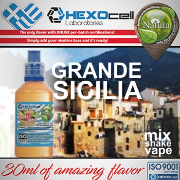 5607 - NATURA MIX SHAKE VAPE GRANDE SICILIA 30/60ML (καπνικό)