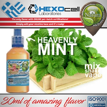 NATURA MIX SHAKE VAPE HEAVENLY MINT 30/60ML (γλυκιά μέντα)