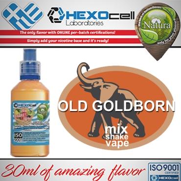NATURA MIX SHAKE VAPE OLD GOLDBORN 30/60ML (καπνικό)