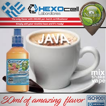 NATURA MIX SHAKE VAPE JAVA COFFEE 30/60ML (καφές)