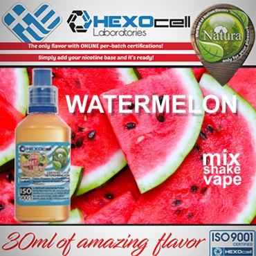 NATURA MIX SHAKE VAPE WATERMELON 30/60ML (καρπούζι)