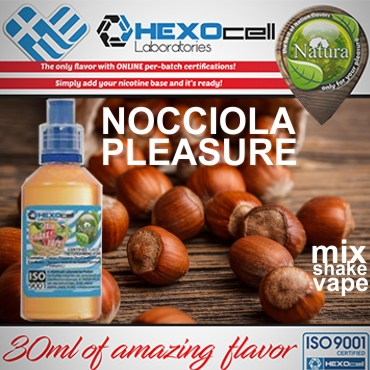 NATURA MIX SHAKE VAPE NOCCIOLA PLEASURE 30/60ML (φουντούκι)