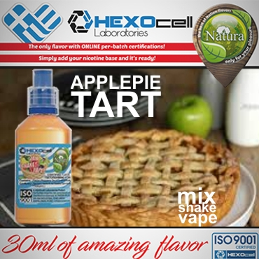 NATURA MIX SHAKE VAPE APPLEPIE TART 30/60ML (τάρτα μηλόπιτα)