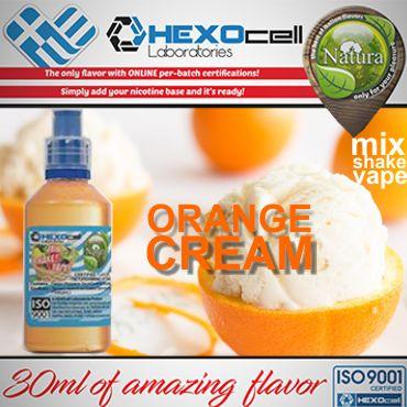 NATURA MIX SHAKE VAPE ORANGE CREAM 30/60ML (κρέμα πορτοκάλι)