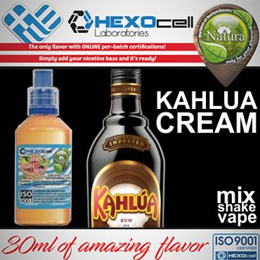 NATURA MIX SHAKE VAPE KAHLUA CREAM 30/60ML (καλούα κρέμα)