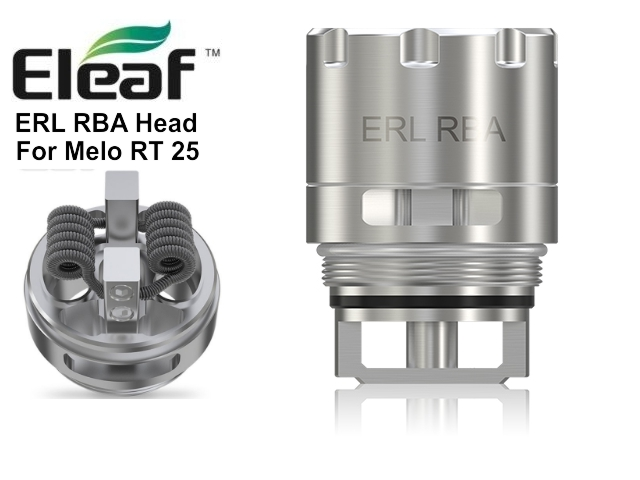 5680 - ERL RBA Head by Eleaf for MELO RT 25 atomizer