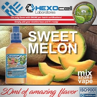 NATURA MIX SHAKE VAPE SWEET MELON 30/60ML (πεπόνι)