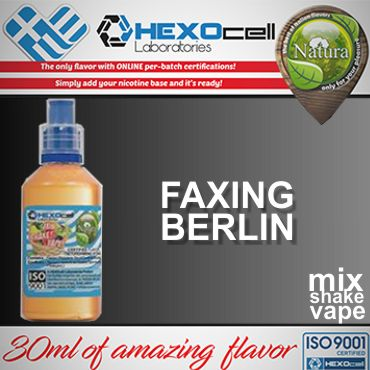 NATURA MIX SHAKE VAPE FAXING BERLIN 30/60ML (κρέμα με φράουλες)
