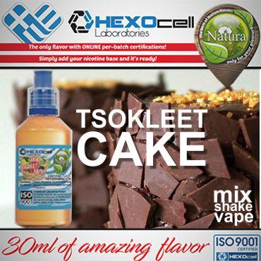 NATURA MIX SHAKE VAPE TSOKLEET CAKE 30/60ML (σοκολατένιο κέικ)