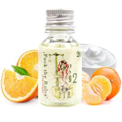 5874 - Άρωμα FUCK THE RULES §2 20ml (πορτοκάλια μανταρίνι και κρέμα)