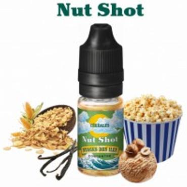 5894 - Άρωμα NUAGES DES ILES NUT SHOT 10ml (παγωτό φουντούκι με δημητριακά)