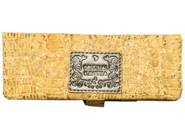 6000 - Καπνοθήκη ORIGINAL KAVATZA MPC32 Cork-Odile Mini Pouch (μικρή για King Size τσιγαρόχαρτα)