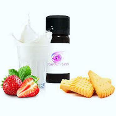 Άρωμα Twisted Vaping FATHERS MILK 10ml (μπισκότο φράουλα και γάλα)