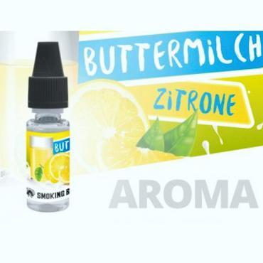 6076 - Άρωμα Smoking Bull BUTTERMILCH ZITRONE 10ml (βουτυρόγαλα και λεμόνι)