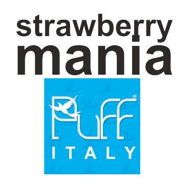6165 - PUFF ITALY STRAWBERRYMANIA 40/50ML (φράουλα)