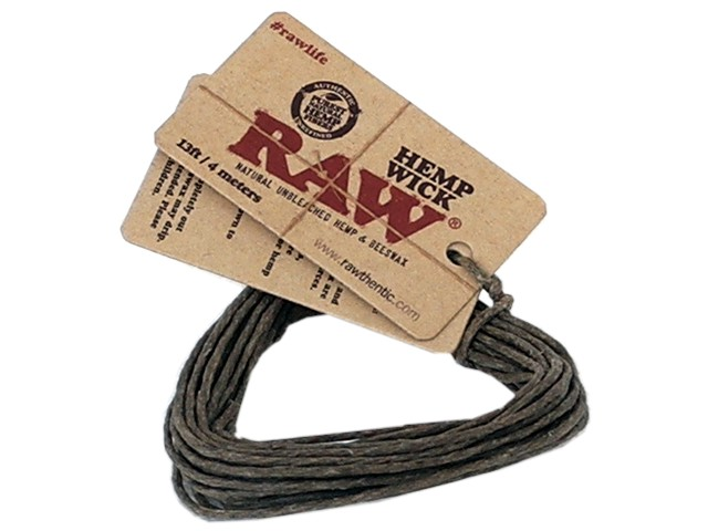 Raw Hemp Wick 13ft / 4 meters
