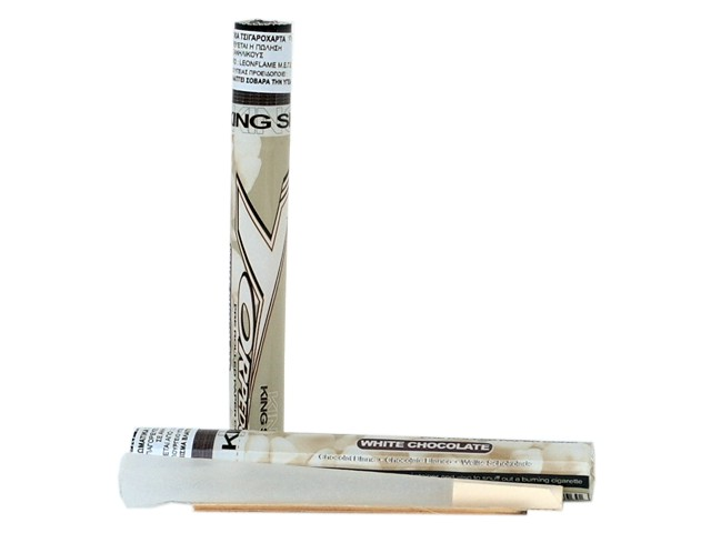 6200 - TORPEDOES King Size pre rolled paper cone WHITE CHOCOLATE