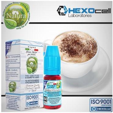 6209 - Υγρό αναπλήρωσης Natura CAPPUCCINO από την hexocell 10ml
